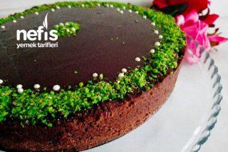 Çikolata Pudingli Karamelli Tart Tarifi