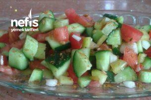 Çok Lezzetli Kaşık Salatası Tarifi