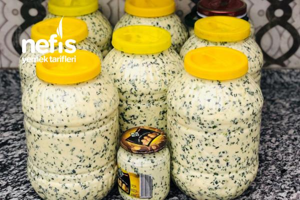 Şırnak Usulü Otlu Peynir Tarifi