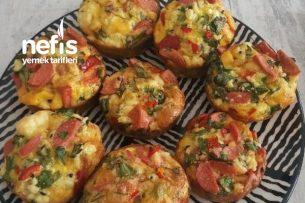 Omlet Muffin Tarifi
