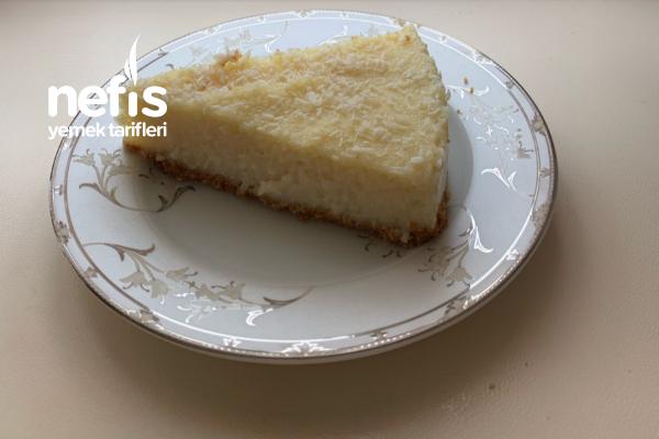 İrmikli Muhallebili Cheesecake Tarifi