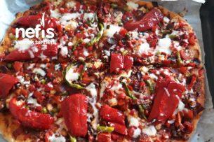 Pastırmalı Enfes Pizza Tarifi