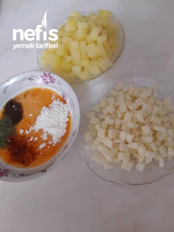 Patatesli Leziz Omlet