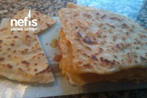 Peynirli Üçgen Gözleme Tavada Tarifi