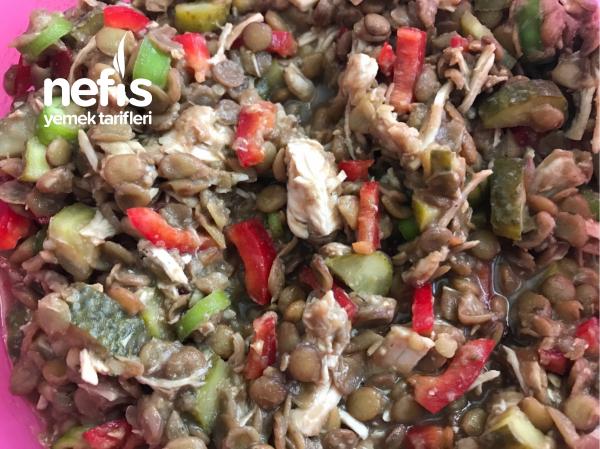 Hindi Etli Yeşil Mercimek Salatası