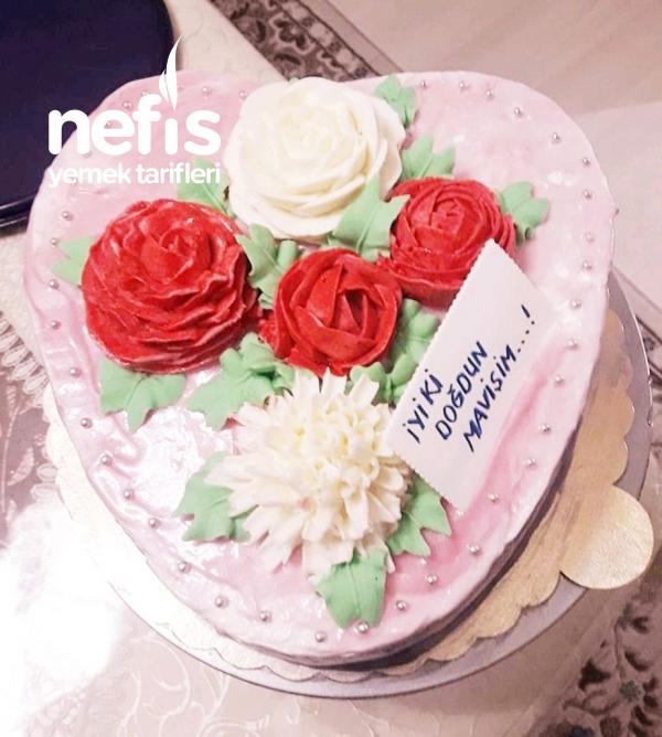 Kalpli Doğum Günü Pastası