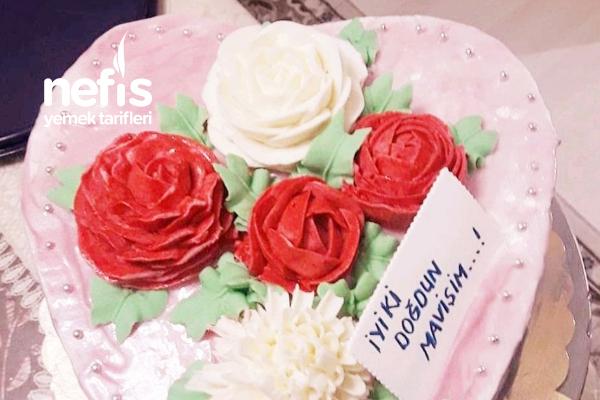 Kalpli Doğum Günü Pastası Tarifi
