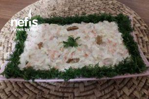 Kereviz Salatası (Nefis Yoğurtlu Elmalı) Tarifi