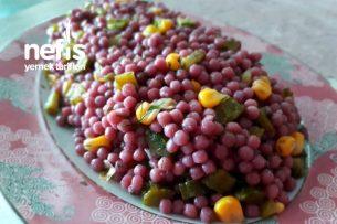 Şalgamlı Boncuk Makarna Salatası Tarifi