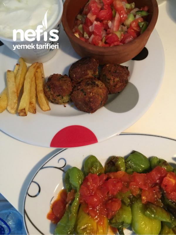 Falafel/ Nohut Köftesi ( Lübnan Mutfağı)
