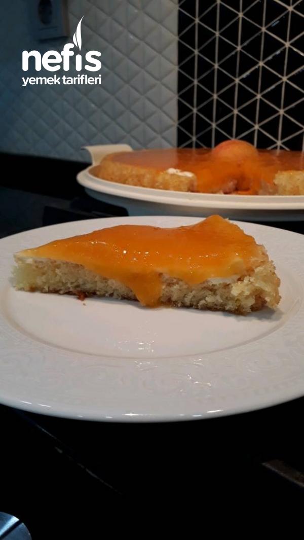 Kayısılı Tart Kek