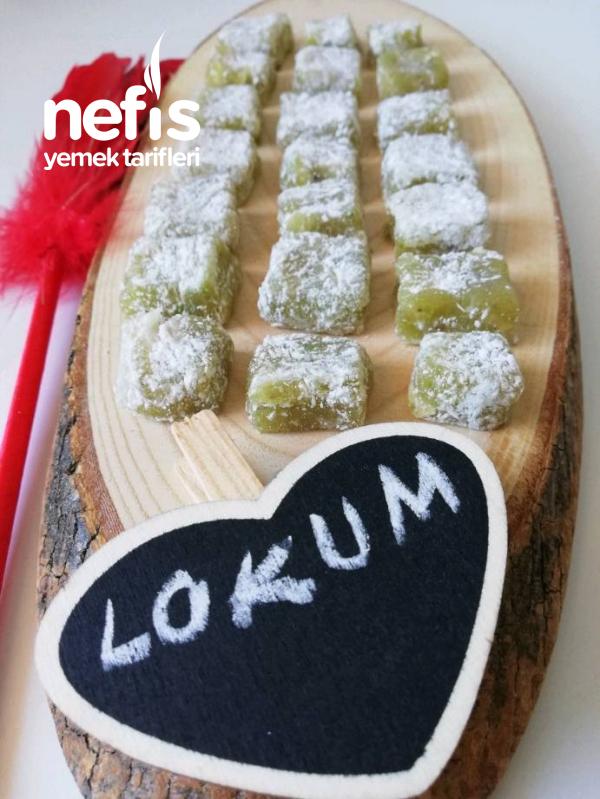 Lokum (ev Yapımı Antep Fıstıklı, Limonlu)