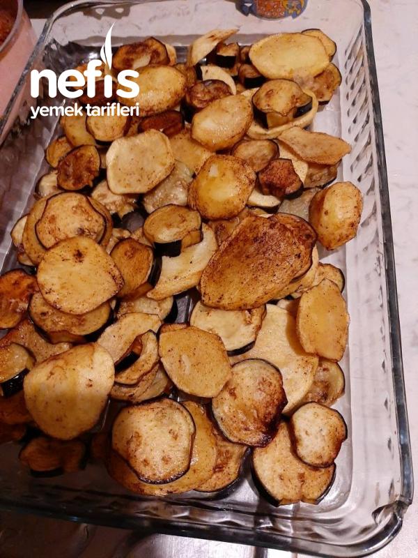 Patatesli Patlıcan Oturtma