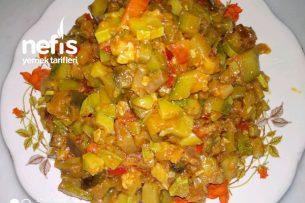 Patlıcanlı Kabak Kavurması Tarifi