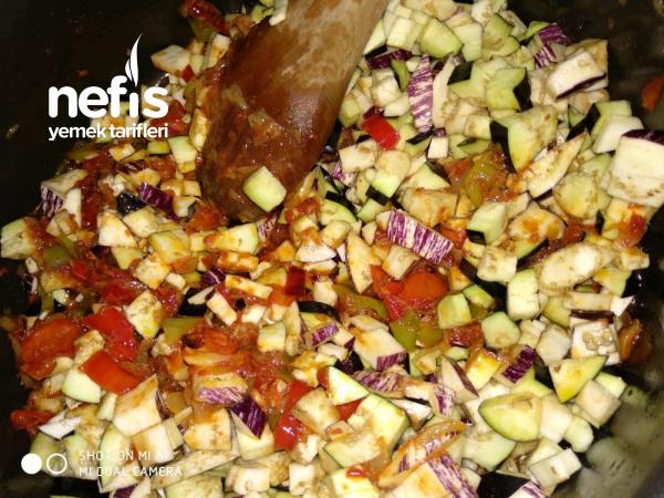 Patlıcanlı Kabak Kavurması
