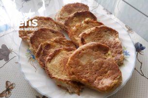Yağ Sevmeyenlere Yumurtalı Ekmek (Çok Basit) Tarifi