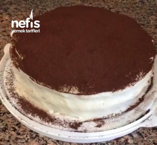 Kolay Tiramisu Hazır Pasta Keki İle