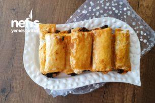 Ispanaklı Hazır Yufka Böreği Tarifi
