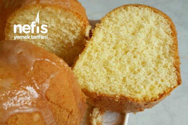 Unsuz Yağsız Sütsüz Kek (Böyle Hafifliği Hiç Bir Kekte Bulamazsınız) Tarifi