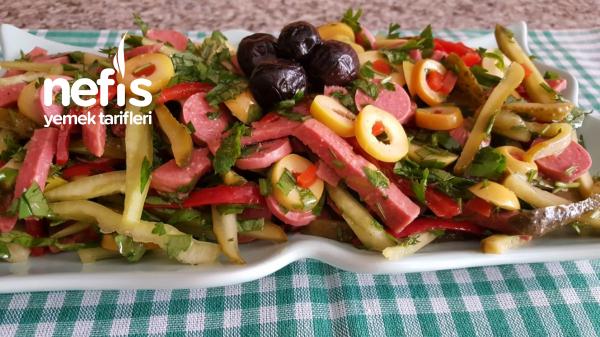 Macar Salata ( Rengarenk Bir Salata )