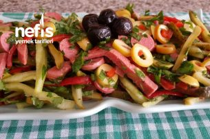 Macar Salata ( Rengarenk Bir Salata ) Tarifi