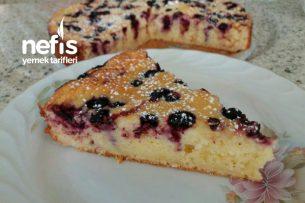 Yaban Mersinli Cheesecake Kek (300. Tarif) Tarifi