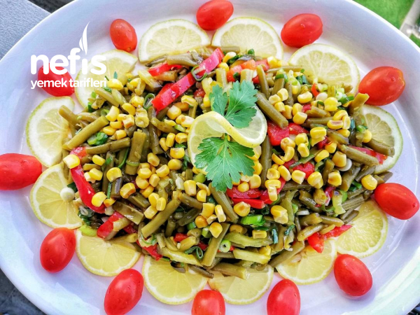 Haşlanmiş Taze Fasulye Salatasi