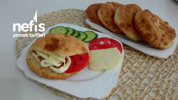 Sandviç Pişiler Kahvaltının Lezzeti