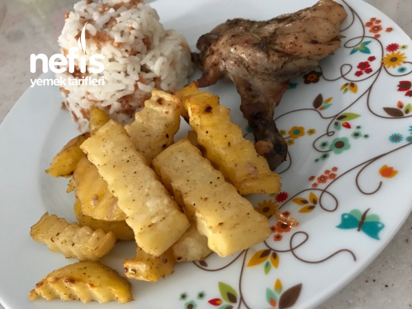 Fırında Patatesli Tavuk Pirzola