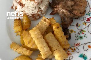Fırında Patatesli Tavuk Pirzola Tarifi