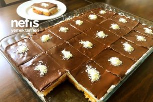 Çikolata Soslu Karamelize Şerbetli Etimek Tatlısı Tarifi