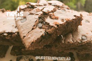 Çikolatalı Çatlak Browni (Orjinal Tarif) Tarifi