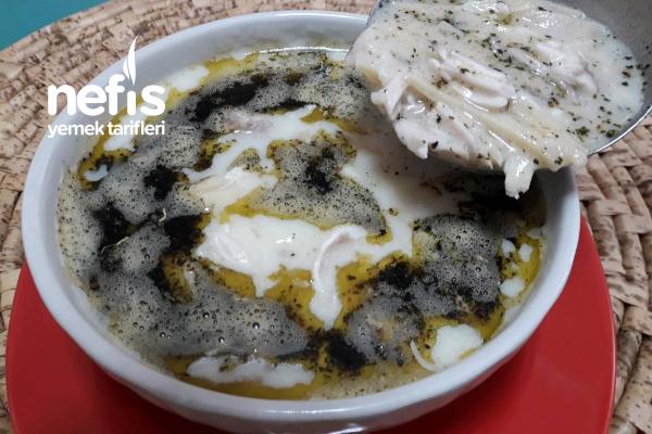 Erişteli Terbiyeli Tavuk Çorbası (2) Tarifi