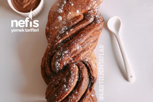 Çikolatalı Örgü Ekmek (Çikolata Aşkına) Tarifi