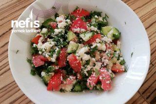 Kahvaltıya Lor Salatası Tarifi