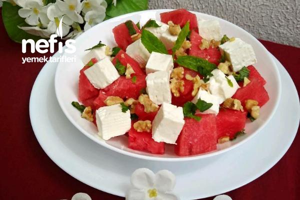 Karpuz Salatası Mükemmel Yaz Salatası Bayılacaksınız Tarifi