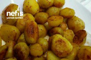 Köfte Yanına Bebek Patates Tarifi