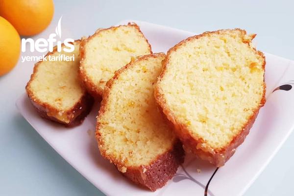 Soslu Portakallı Kek Tarifi