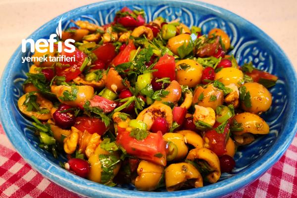 Zeytin Salatası (Videolu) Tarifi