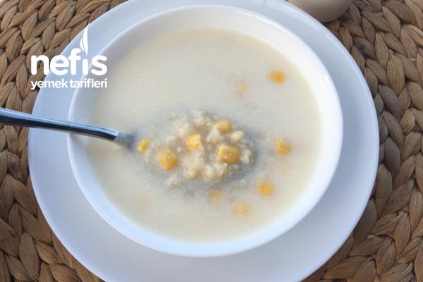 Buğday Ve Mısırlı Yoğurtlu Çorba (Sıfır Yağ) Tarifi