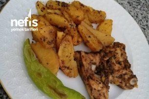 Fırında Baharatlı Tavuk-Patates Tarifi