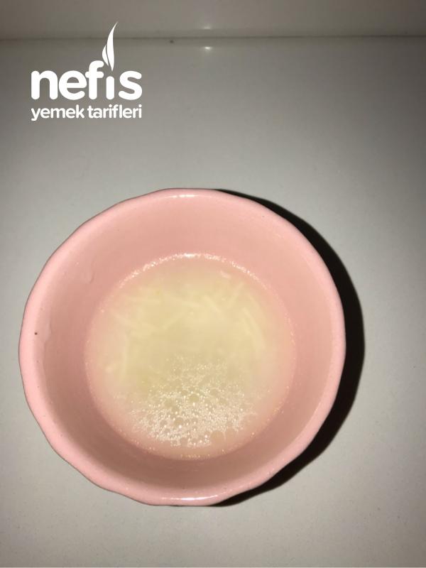 Peynir Altı Sulu Tel Şehriye Çorbası (+6 ay) Kalanı Da Sizin İçin
