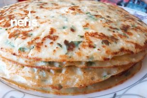 Peynirli Maydanozlu Krep Tarifi