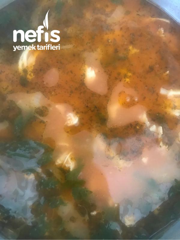 Tavuk Çorbası (naneli)