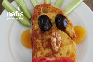 Yumurtalı Ekmekli Çocuk Kahvaltısı Tarifi