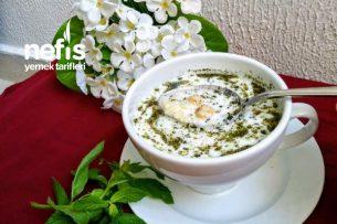 Arpa Şehriyeli Soğuk Çorba (5 Dakikada Hazır) Tarifi