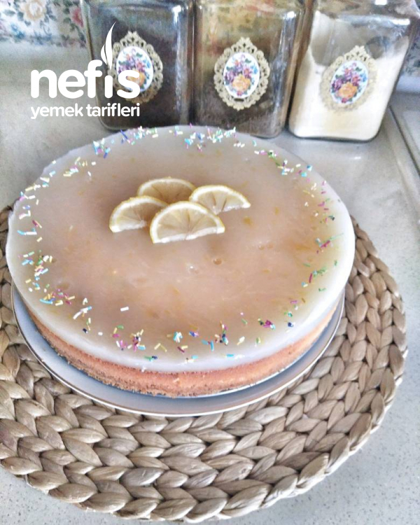 Enfes Limonlu Cheesecake