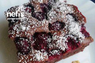 Frambuaz Ve Çikolatalı Kek Tarifi