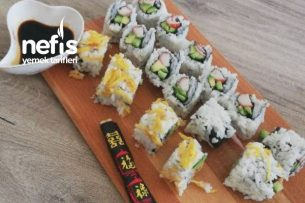 Gerçek Lezzetinde Sushi Tarifi