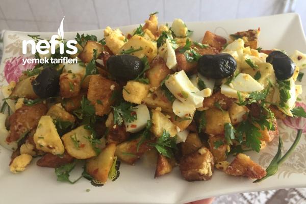 Kahvaltıya Patates Salatası Tarifi